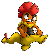 Scrafty by HintoMikto