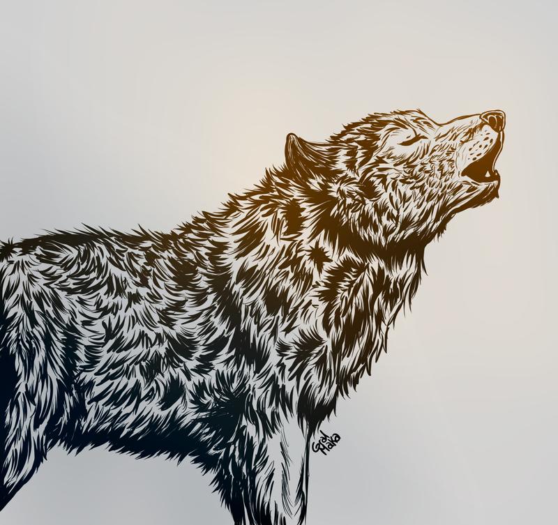 Howling by GralMaka