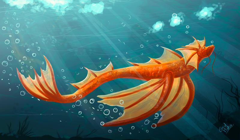 Swim by GralMaka