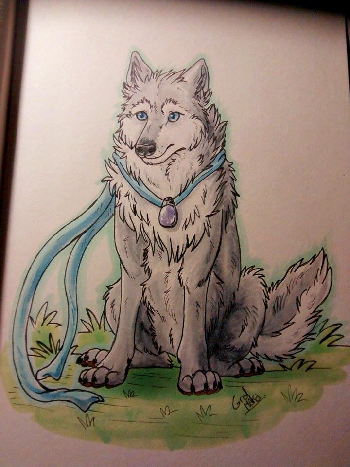 Wolf by GralMaka