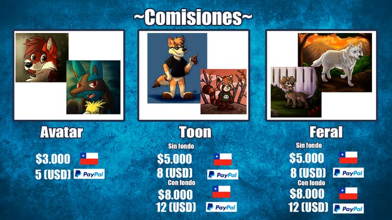 Comisiones by GralMaka