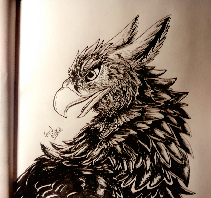 Inktober day 11 by GralMaka