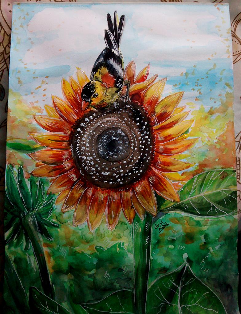 Sunflower by GralMaka