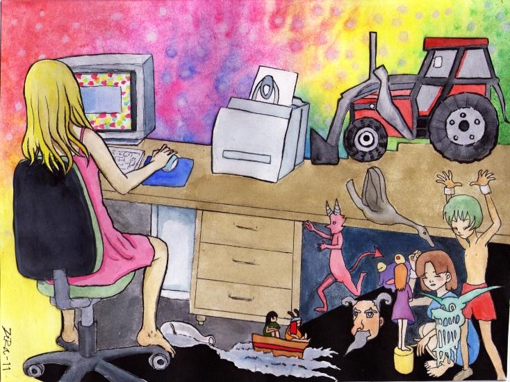 Internet by wic-chan