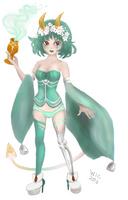 GaiaOnline: Sweet emerald clover by wic-chan