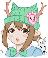 GaiaOnline: Avatar art 001 by wic-chan