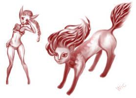 GaiaOnline: Avatar art 048 by wic-chan