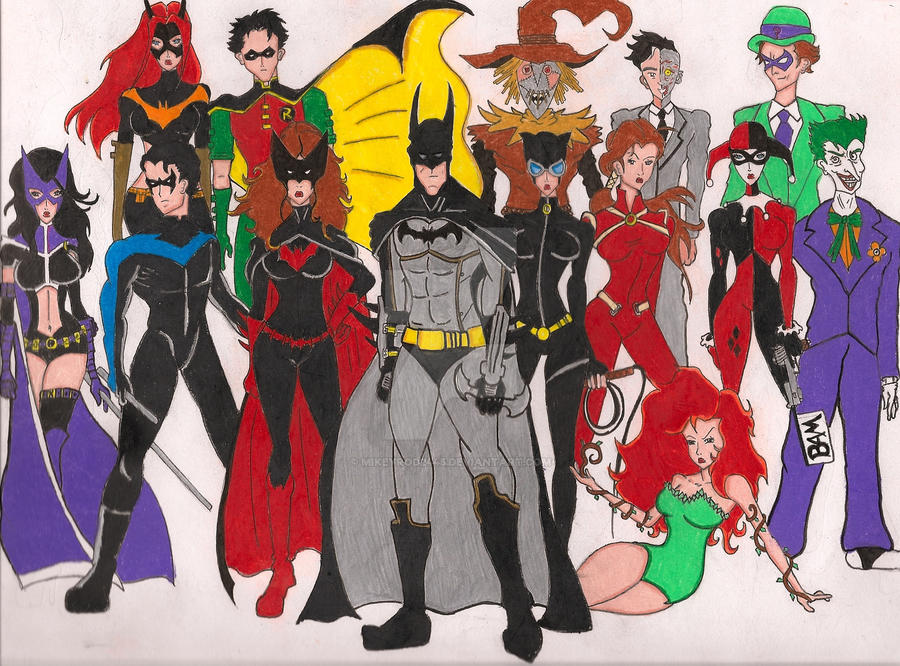 heros and villains batman and Let's take a look at some of the heroes and villains who've given batman a thorough beatdown.