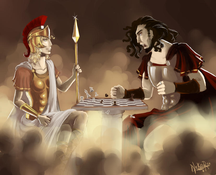 Ares And Athena Relationship