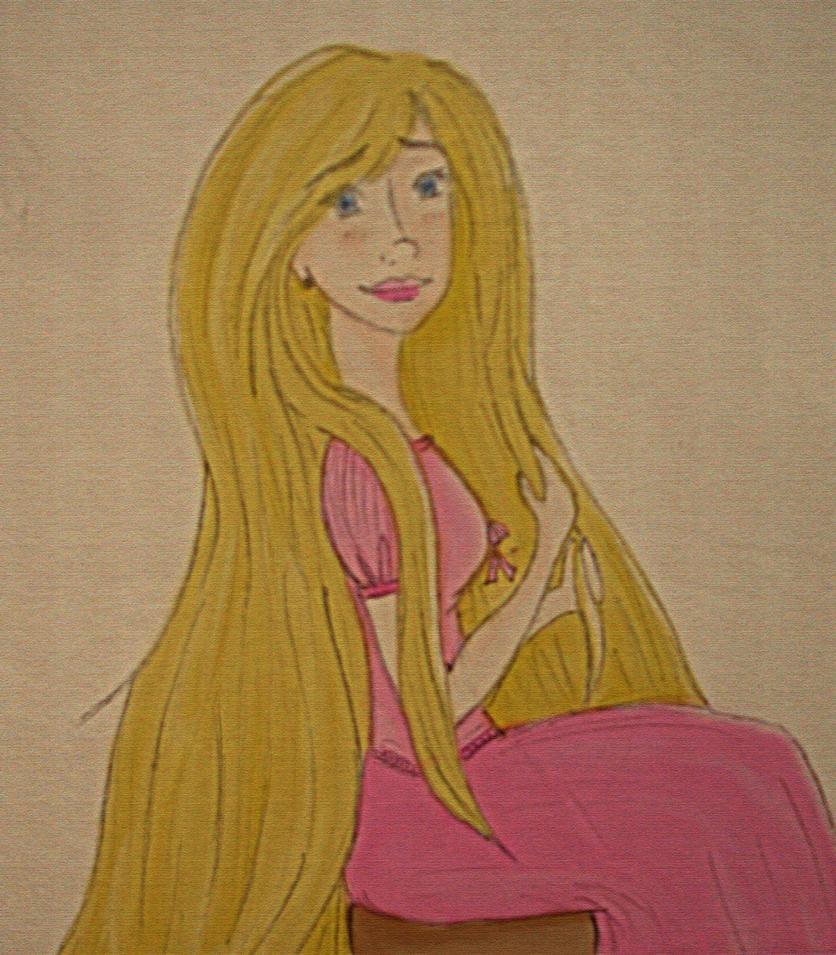 Rapunzel -2 by KokoAlgeria