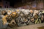 Graffiti, faces