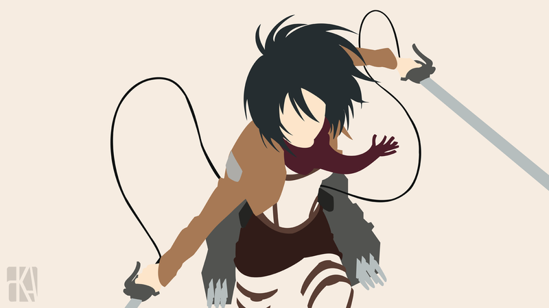 Mikasa attack on titan by pasirmerah on deviantart mikasa attack on titan by pasirmerah voltagebd Image collections