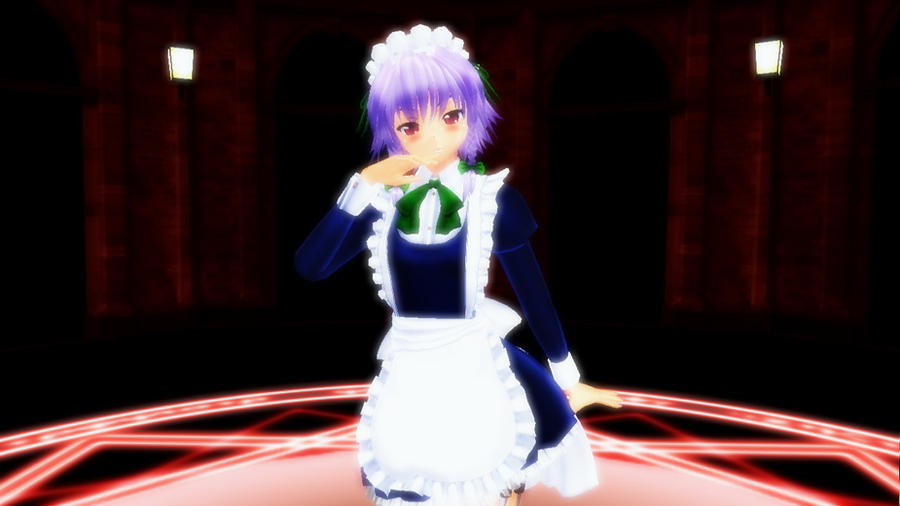 3d mmd voluptous sakuya and patchouli in kiss me 2