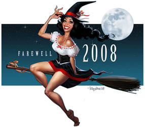 Farewell 2008 by Loopydave