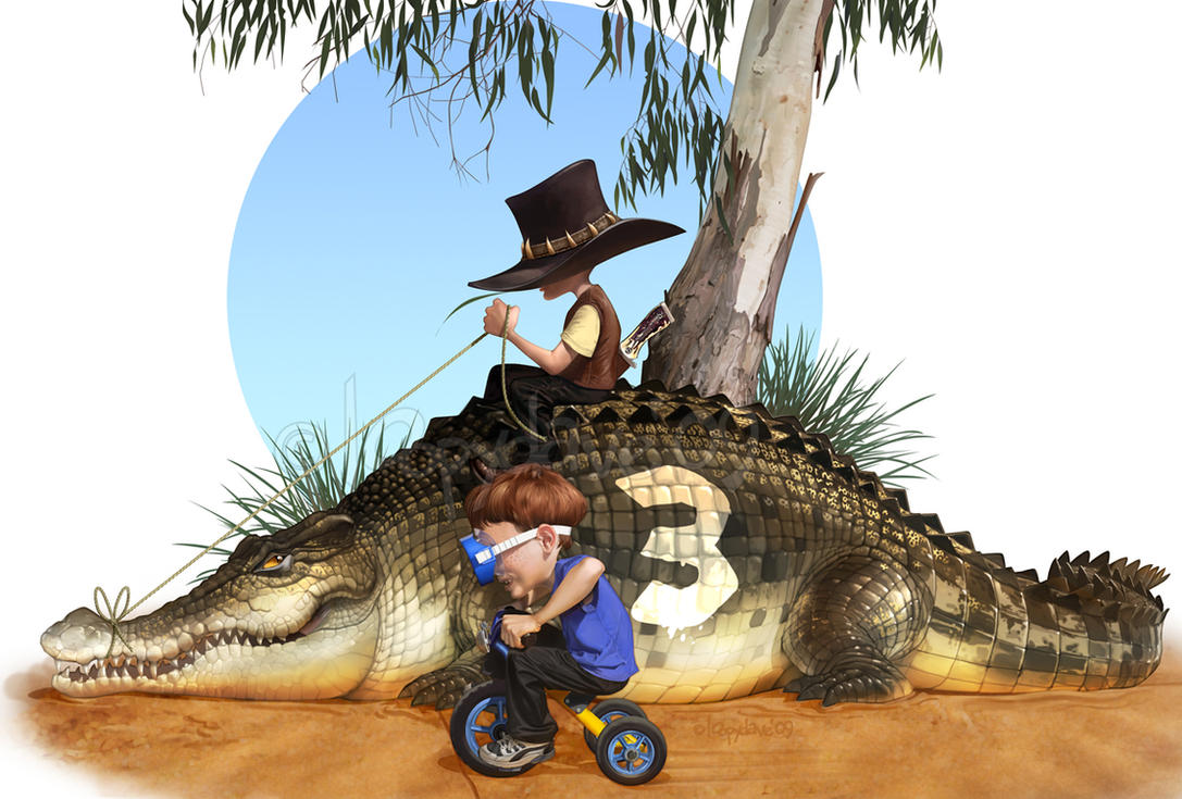 Crocodile Dundee Jnr by Loopydave