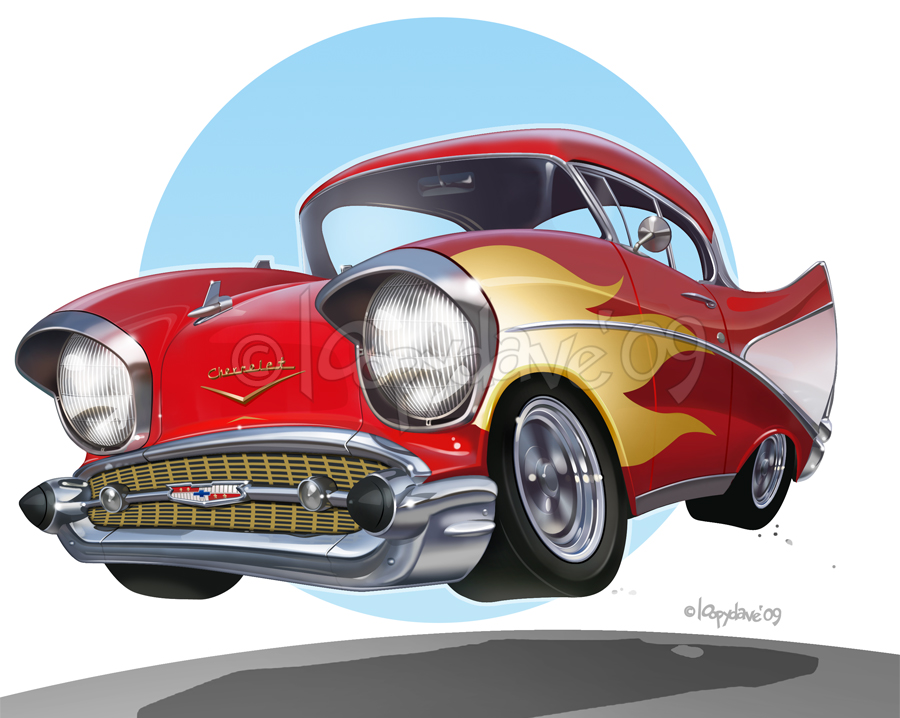 57 chevy by Loopydave