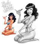 Betty Sketch