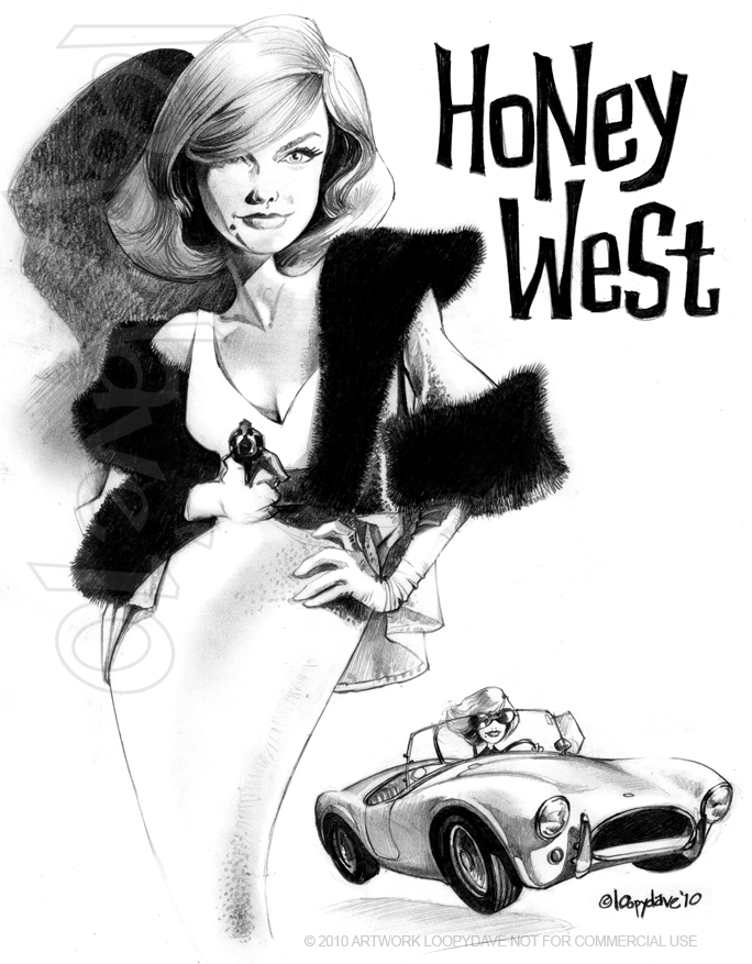 Honey West by Loopydave