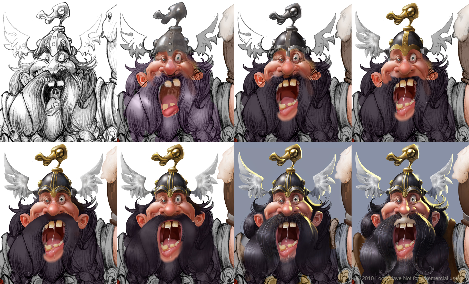 how I paint a drunken dwarf by Loopydave
