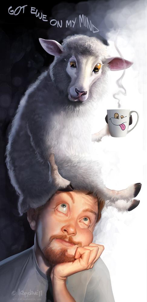 Got ewe on my mind