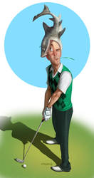The golfing handicap....