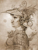 Leonardos Sketchbook by Loopydave