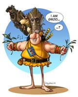 Groos Groot cosplay by Loopydave