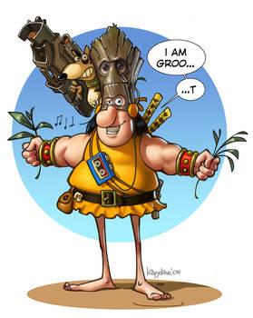Groos Groot cosplay
