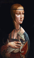 Lady with Dragon