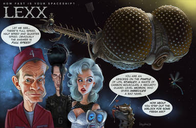 How fast is your spaceship? the LEXX by Loopydave