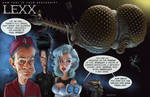 How fast is your spaceship? the LEXX