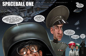 How fast is your spaceship? Spaceballs