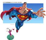 Superman's new costume