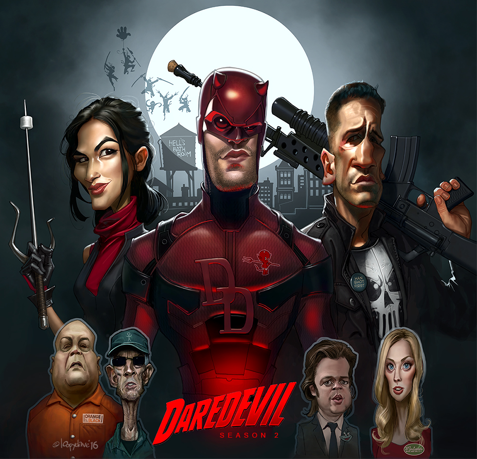 Daredevil by Loopydave