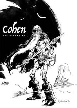Inktober day03: Cohen the Barbarian