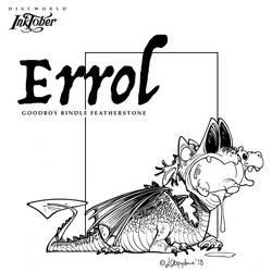 Inktober day08: Errol the swamp dragon by Loopydave