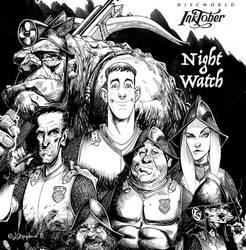 inktober 12-18 Night Watch by Loopydave
