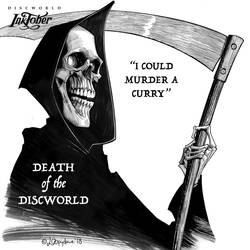 Inktober 20 Death by Loopydave