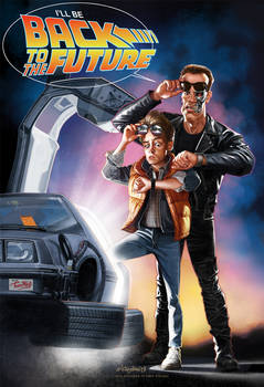 I'll be back... back to the future