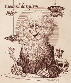 Leonard de Quirm by Loopydave