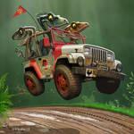 Jurassic Jeepin'