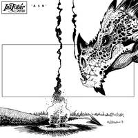INktober 2019 new day 'dragon'