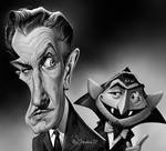 Vincent Price and groupie