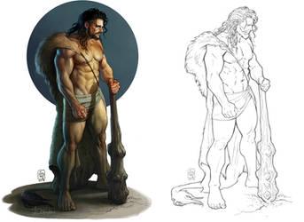 Hercules goes clubbing