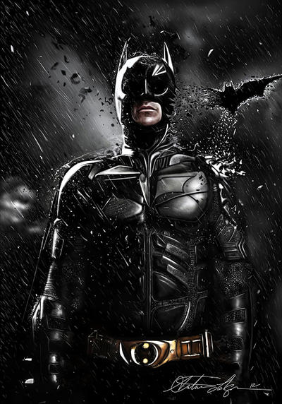 Batman-The Dark Knight Rises (Drawing)