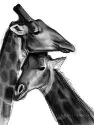 Giraffes WIP