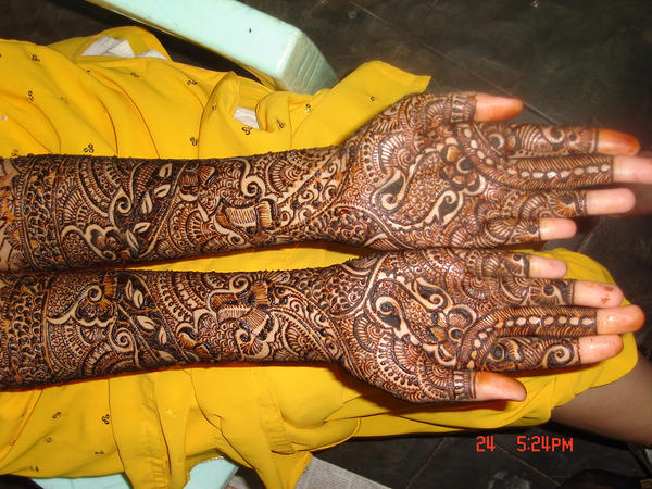 bridal heena by Trishamalhotra