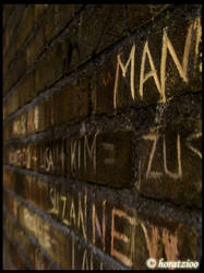 A MAN on a wall by horatzioo