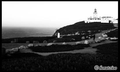 Alone to the lighthouse by horatzioo
