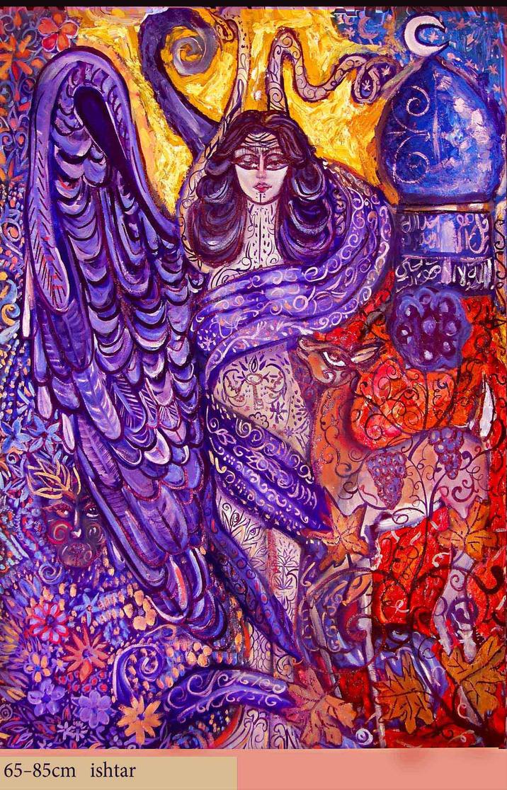 ultrawoman inanna goddess - 716×1116